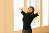Studio Shoot (Dan   Hacker   Photography) Tags: windows light red leather model durham photoshoot natural northcarolina lips brunette leatherpants combatboots nars