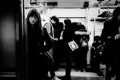 ((Jt)) Tags: street portrait train underground subway photography asia metro streetphotography korea seoul iphone travelphotography iphoneography jtinseoul iphone6s