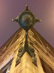 Looking up at the beautiful iconic clock. (Susanne Peters (aka Cyber) 1M Views & Counting!) Tags: chicago clock illinois statestreet marshallfields