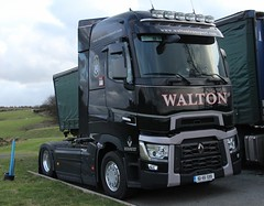 Walton Series T (fannyfadams) Tags: new uk ireland irish wagon lorry anglesey northwales holyhead a55 waltontransport renaultseriest 161kk599