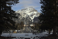 Cascade (chrisroach) Tags: winter snow canada rockies banff rockymountains cascade banffavenue banffnationalpark canadianrockies cascademountain cascadegardens banffave