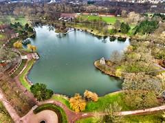 Rundflug im Stadtpark (FalkoMD) Tags: sea germany deutschland see magdeburg stadtpark dji