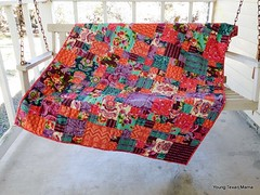 Cordelia's Baby Quilt (Young Texan Mama) Tags: sewing quilting amybutler babyquilt aurifil