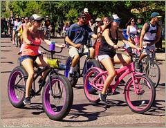 4611 (AJVaughn.com) Tags: park new arizona people beach beer colors bike bicycle sport alan brewing de james tour belgium bright cosplay outdoor fat parade bicycles vehicle athlete vaughn tempe 2014 custome ajvaughn