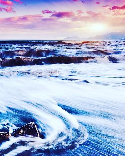 #февраль #зима #2016год #вода #море #явления #волны #небо #apple #iphone5s