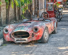 What am I ? (Beegee49) Tags: old city sports cobra philippines shelby vehicle restoration bacolod