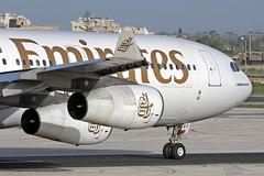 A6-ERO LMML 25-02-2016 (Burmarrad (Mark) Camenzuli) Tags: cn aircraft emirates airline airbus registration 163 a340313x a6ero lmml 25022016