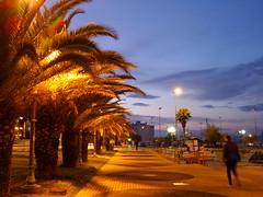 Twilight in Corinth.(1) (Christos Andreou) Tags: port evening twilight mediterranean ngc relaxing corinth greece coastline meditation melancholy urbanlandscape nightwalking nightlandscape seasunset hdrphotos samsunggalaxykzoomsamples opticalzoomphotos