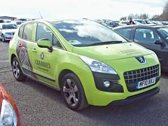 57 Peugeot 3008 Sport HDi (2010) (robertknight16) Tags: france peugeot 3008 donington crabbies 2010s mf10bxj