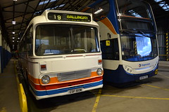 Stagecoach Fife CSF160W & 19064 MX56FSS (Will Swain) Tags: county uk travel england bus english buses yard manchester march scotland fife britain garage country north transport shed 4th scottish east vehicles vehicle depot stagecoach 2016 19064 aberhill csf160w mx56fss