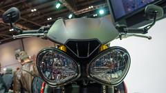 bug eyes (neil.bulman) Tags: show london face eyes bikes triumph motorcycle motorbikes triple excel bugeyes speedtriple excellondon mcn mcnlondonmotorcycleshow
