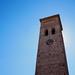 Torre de estilo mudéjar toledano.Toledo mudejar style tower. Móstoles