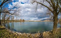 lake Zajarki (059) (Vlado Ferenčić) Tags: lakes lakezajarki landscapes zaprešić zajarki winter cloudy nikond600 sigma1528fisheye fisheye vladoferencic vladimirferencic