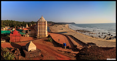 Kunkeshwar (Chinmay Avachat Photography) Tags: beach panorama scenic kunkeshwar tarkarli konkan maharashtra india pune photographerpune malvan sindhudurg slr canon t5i rebel 700d photography chinmayavachatphotography cap copyright allrightsreserved moments creative commons flickr flickriver explore best camera art lens photooftheday picoftheday beautiful composition potd pictureoftheday wow