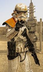 Fan Art (ex-otico) Tags: art photoshop star fan wars tatooine stormtroper