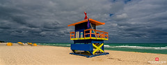 Florida Life: Style & Substance (Thncher Photography) Tags: ocean sky beach nature water clouds landscape outdoors florida miami sony scenic fullframe fx miamibeach atlanticocean lifeguardtower lifeguards waterscape southeastflorida zeissfe1635mmf4zaoss a7r2 ilce7rm2 sonya7r2