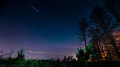 Hidden Light (Spectral Photography) Tags: trees red black beautiful car vw night forest golf stars nikon outdoor astro creepy hills astrophotography chase 28 tamron d800 1530
