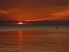 Sunset after eclipse (padraic_koen) Tags: sunset indonesia sulawesi ampana gulfoftomini