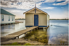 Unlucky for some (RissaJT_23) Tags: lake water clouds canon landscape boats boat boating recreation australianlandscape ballarat boatshed lakewendouree canon1740mm canon6d cityofballarat canoneos6d