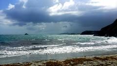 Punta Cabo Negro (Luis Eduardo ) Tags: sea storm beach water clouds landscape outdoors sand venezuela tropic caribbean luismosquera