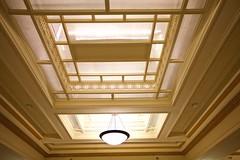 Strand Hotel Lobby Sky Light (WayOutWardell) Tags: chicago woodlawn