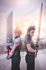 Cloud & Zack - F.F. (Glynford Custodio Photography) Tags: anime art japan nikon f14 manga videogames final fantasy 24mm ade hercules 2016 romics sgima d5100