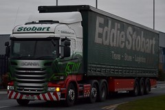 Stobart H2309 PO15 USM Eileen Patricia at Appleton 25/2/16 (CraigPatrick24) Tags: road truck cab transport lorry delivery vehicle trailer scania logistics appleton stobart eddiestobart curtainsider h2309 stobartgroup scaniar450 stobartcurtainsider po15usm eileenpatricia