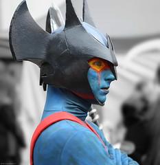 OKIMG_5851 (taymtaym) Tags: blue costumes portrait man roma guy primavera portraits costume spring skin cosplay profile di cosplayer ritratti ritratto helm cosplayers fiera costumi 2016 profilo romics romics2016spring romics2016primavera