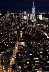 Avenida (lautada) Tags: city usa newyork rooftop night atardecer unitedstates ciudad empirestate anochecer estadosunidos nuevayork