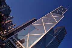 le de Hong Kong - Central - Bank of China Tower 1 (luco*) Tags: china sky building tower island district central bank hong kong ciel chine le gratteciel flickraward flickraward5