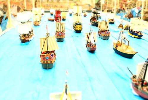 Playmobil-Batalla de Trafalgar2