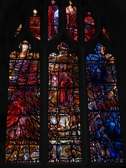 Richard III Window, Leicester Cathedral (Aidan McRae Thomson) Tags: window modern cathedral contemporary leicester stainedglass tomdenny