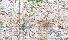 Railway History (DH73.) Tags: one inch map 94 oxford mgc sheet westcott 1919 aylesbury brill survey tramway kingswood bicester ordnance wootton tramroad woodsiding quaintonroad metropolitanrailway churchsiding waddesdonroad