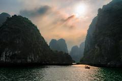 Lost In Time (Marshall Ward) Tags: seascape landscape asia southeastasia vietnam halong halongbay 2016 nikond800 afszoomnikkor2470mmf28ged marshallward