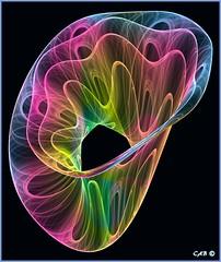 Zero Gravity (antarctica246) Tags: rainbow pastel cab plasma trippy psychedelic chaoscope strangeattractor mathart antarctica246 polynomialfunctionsin