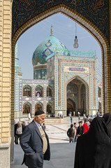 (kamshots) Tags: religious iran religion mosque tehran tajrish saleh emamzadeh
