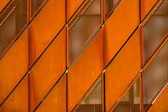 diagonal (joerg.busack) Tags: red building rot window metal architecture facade rust pattern fenster diagonal architektur bremen rost metall gebude muster fassade universum rombus