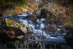 Spring river in Sweden (SwedishPhotoBear) Tags: longexposure canon river sweden schweden sverige vr 24105 stergtland smallriver canon6d