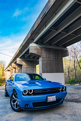 Dodge Challenger (abysal_guardian) Tags: blue car canon eos us unitedstates muscle mark tokina ii american 7d dodge delaware hemi wilmington f28 v8 challenger 57l 1116mm tokina1116mmf28 7dmarkii 7dm2