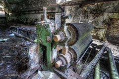 Rolling Mill (Fine Art Foto) Tags: urban abandoned paper decay urbandecay heavymetal forgotten urbanexploration rotten derelict decaying urbex paperfactory lostplaces oldindustry lostplace