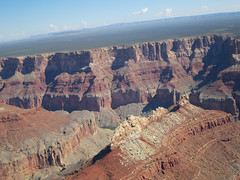 Grand Canyon view from a helicopter 5 (Monceau) Tags: landscape ride grandcanyon helicopter vista lookingdown grandcanyonnationalpark