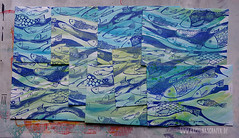 making_of_Fruehlingspost2016_5601.jpg (KristinaMariaS) Tags: screenprinting patterndesign handprintedfabric fishpattern amliebstenbunt kristinaschaper