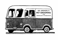 The doctors van (Don Moyer) Tags: moleskine ink truck notebook drawing grooming van moyer brushpen donmoyer