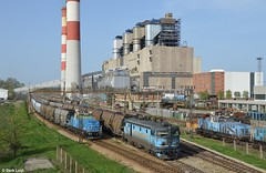 TENT 441-04,  (Obrenovac), 4-4-2016 16:38 (Derquinho) Tags: plant train power tent 441 coal tesla nikola a kolencentrale 44104 obrenovac kolubara termoelektrana vreoci