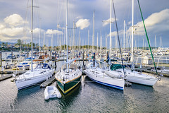 Melelana (Cameron Knowlton) Tags: ocean sea cloud canada water clouds sailboat boats boat nikon bc sailboats sidney d600