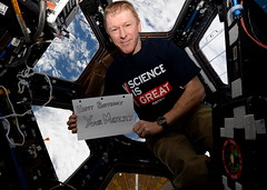 Happy Birthday (Tim Peake) Tags: her queen cupola majesty
