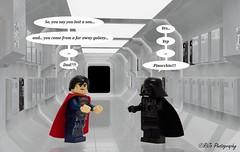 Dad? (R!J0) Tags: last words lego spiderman dial superman batman vs wolverine daredevil spidy deadpool