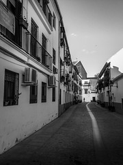 Streets of Andalucia (vuralyavas) Tags: road street city blackandwhite bw white black building monochrome architecture blackwhite spain streetphotography andalucia espana bnw
