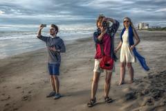 Tom, Susan & Ella (emptyseas) Tags: ocean usa beach tom sand nikon florida susan ella cocoa d800 emptyseas