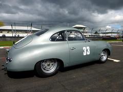 Porsche 356 No33 (badhands13) Tags: car silver grid 33 german porsche motorsport racingcar castlecombe 356 hscc